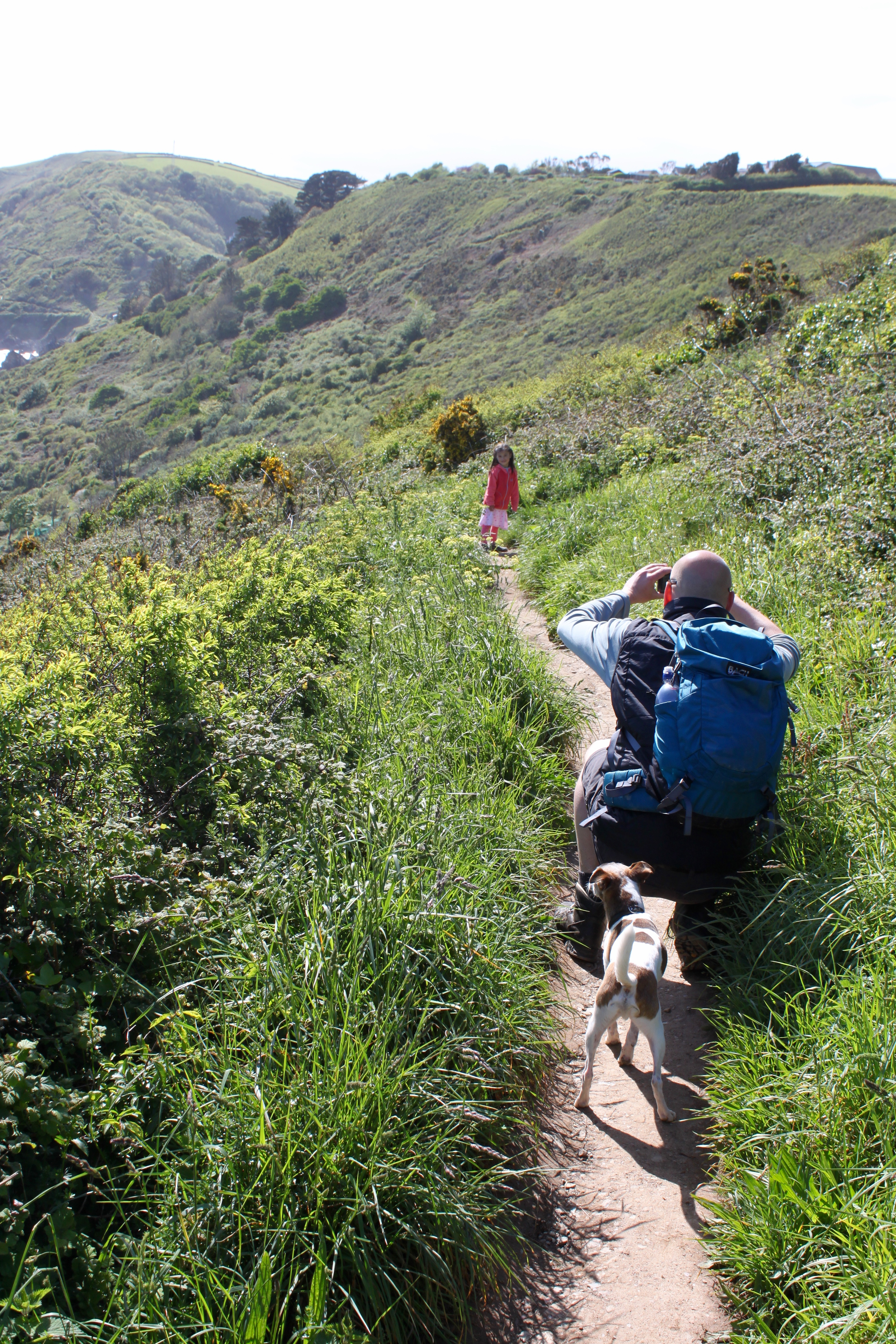 "6 – The ""South West Costal Path"" von Looe nach Polperro"
