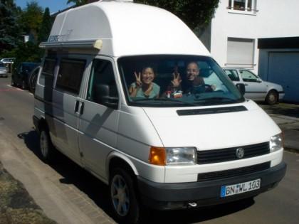 Unser Honeymoon-Mobil: T4 Caravelle PemaMobil (2007)