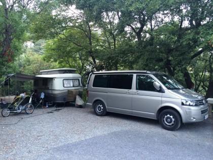 Camping Monti e Mare, Alassio, San Remo (Ligurien)