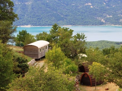 Campingplatz Aigle, Aiguines, Verdon / Provence-Alpes-Côte d'Azur