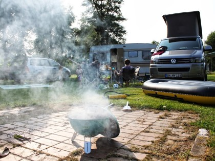 Campingplatz Siegtal Camping, Hennef-Altenbödingen