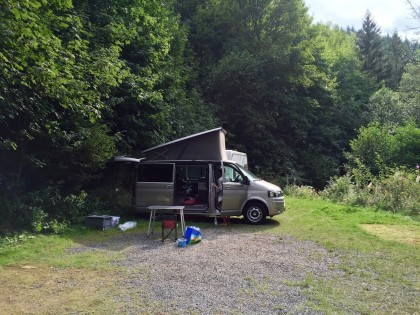 Campingplatz Perlenau, Monschau / Eifel