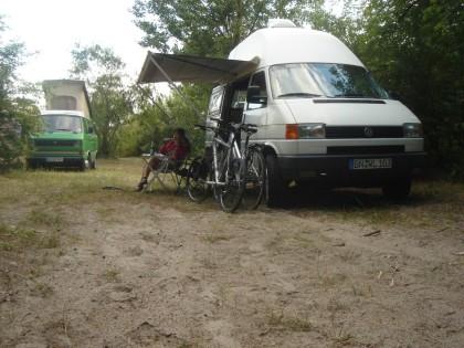 Campingplatz ElbeCamp, Hamburg