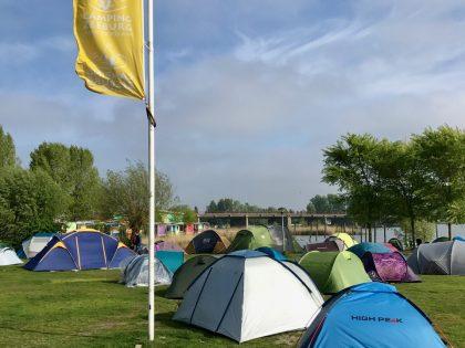 Camping Zeeburg, Amsterdam, Noord-Holland