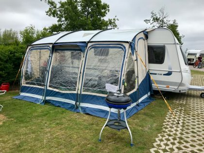 Wohnwagenvorzelt Outdoor Revolution, Compactalite Plus 400