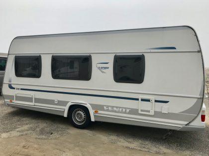Zeit für was Neues: Wohnwagen Fendt Saphir 510 TFK