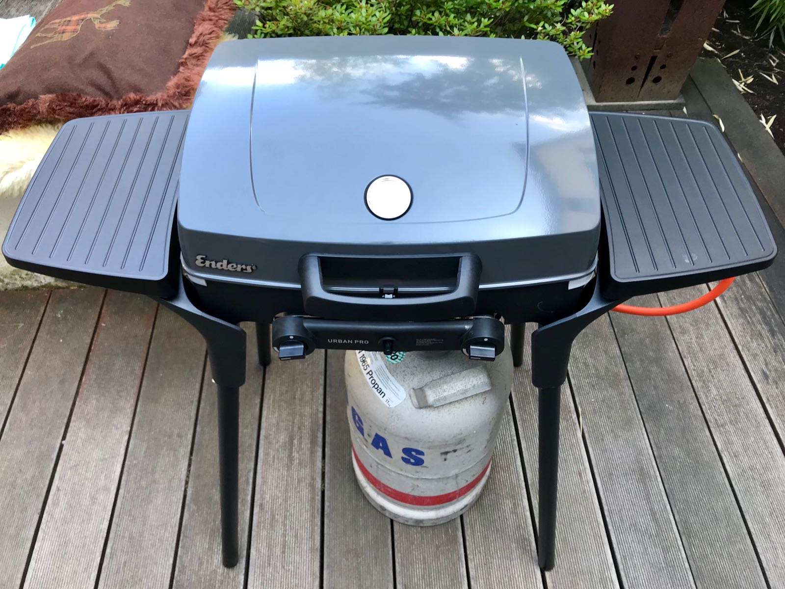 Enders Gasgrill Camping : 2 in 1: gasgrill und kocher unser neuer enders urban vario pro