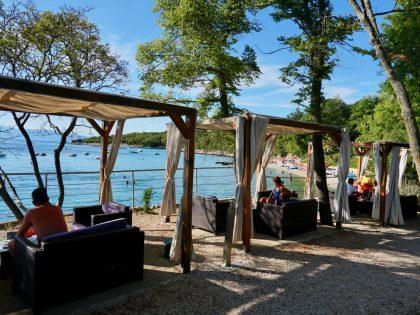 Campingplatz Kamp Njivice, Insel Krk, Kvarner Bucht