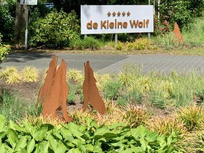 Campingplatz: De kleine Wolf, Stegeren, Overijssel