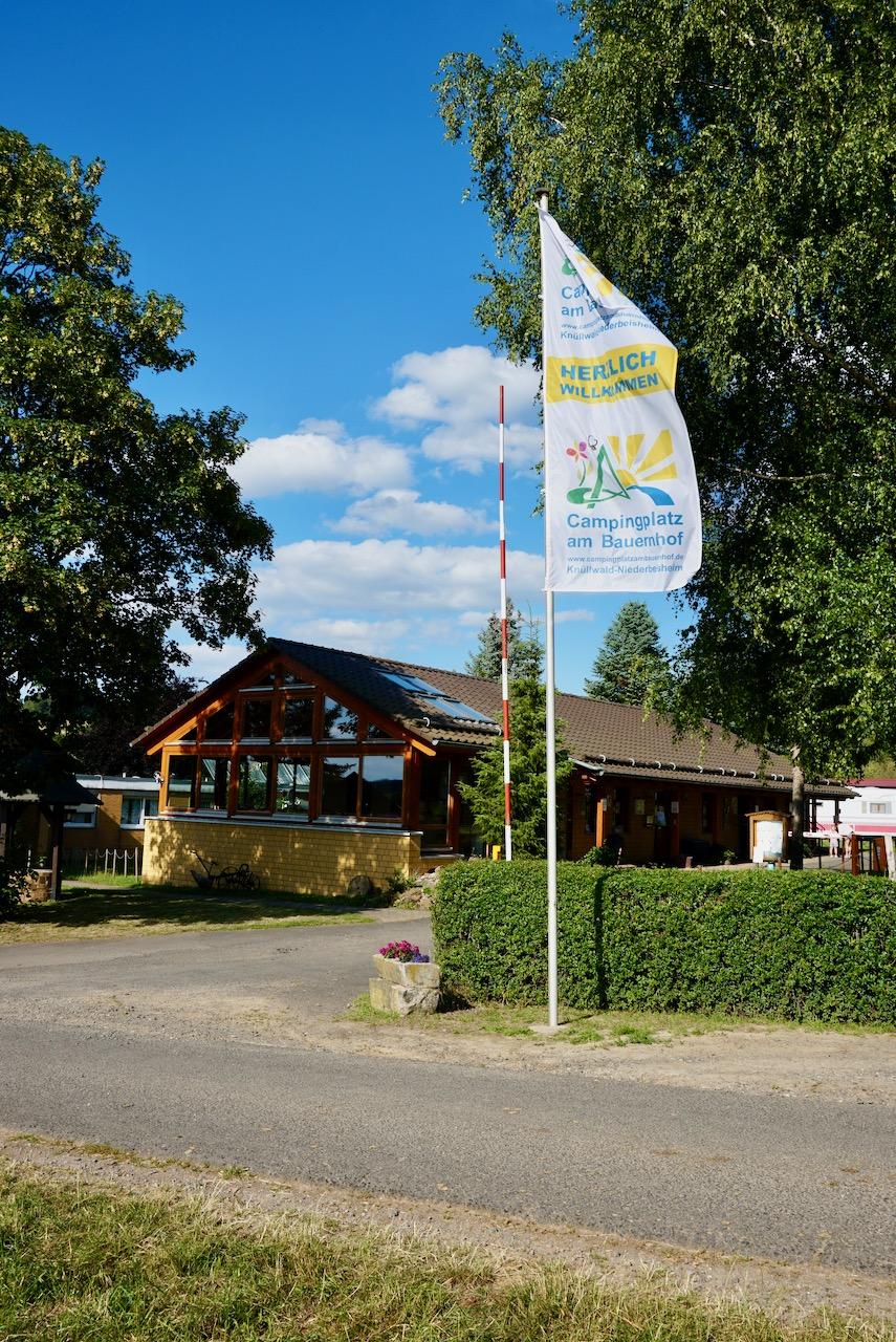 Campingplatz Am Bauernhof, Knüllwald / Homberg-Efze / Nordhessen