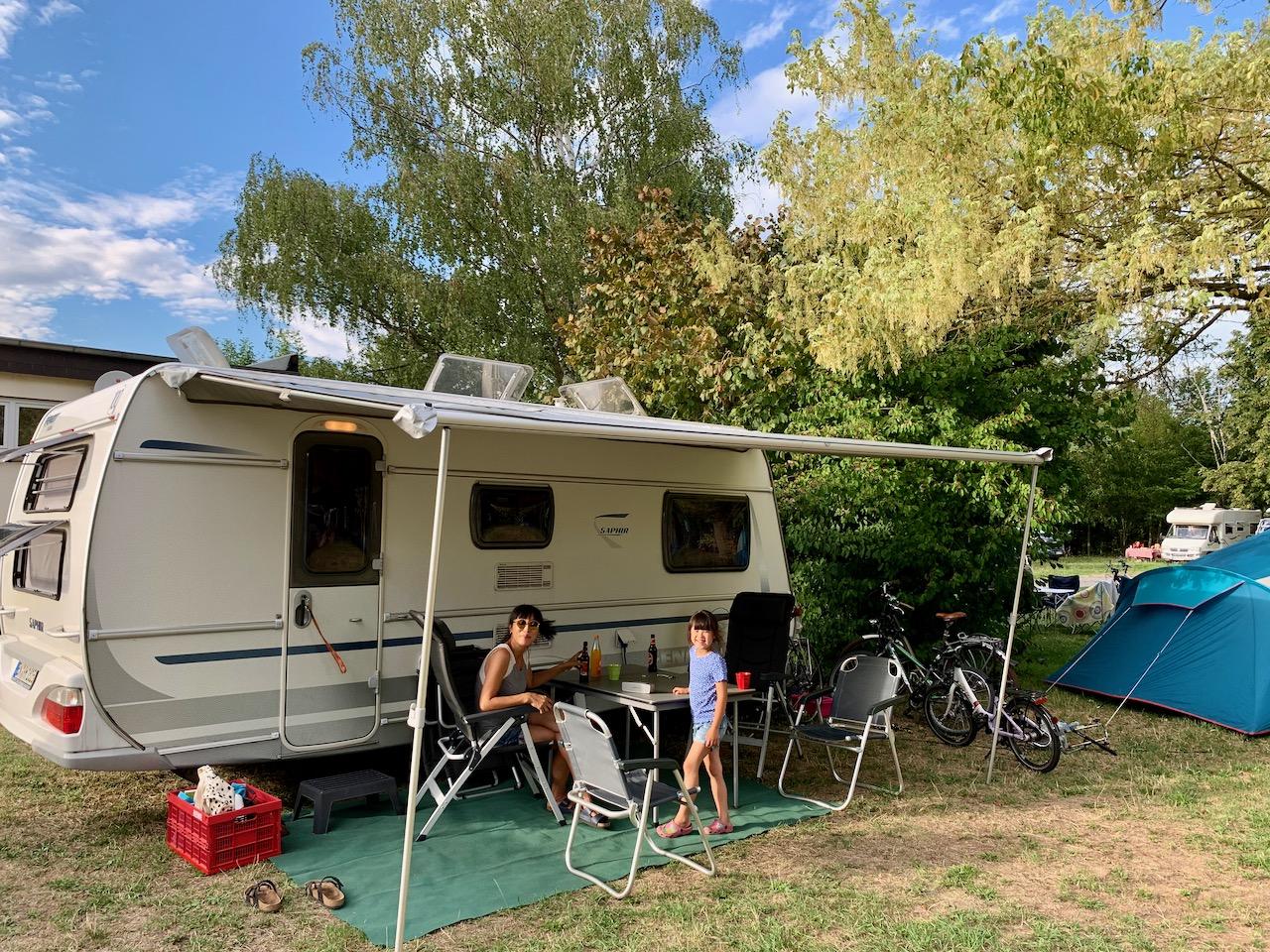 Camping Hattenheim, Eltville am Rhein, Rheingau