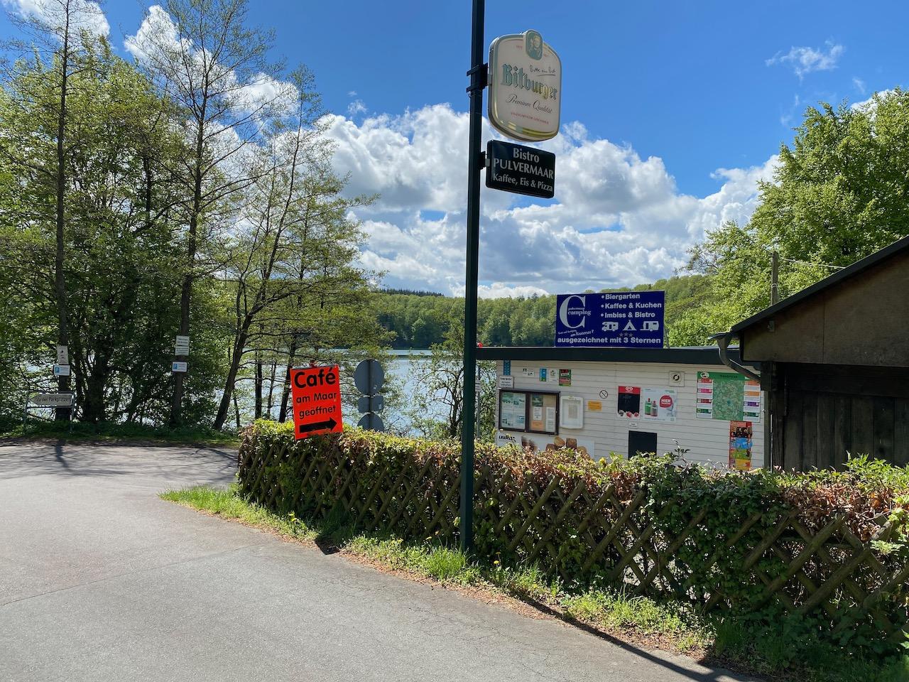 Campingplatz Pulvermaar, Gillenfeld, Eifel / Vulkaneifel