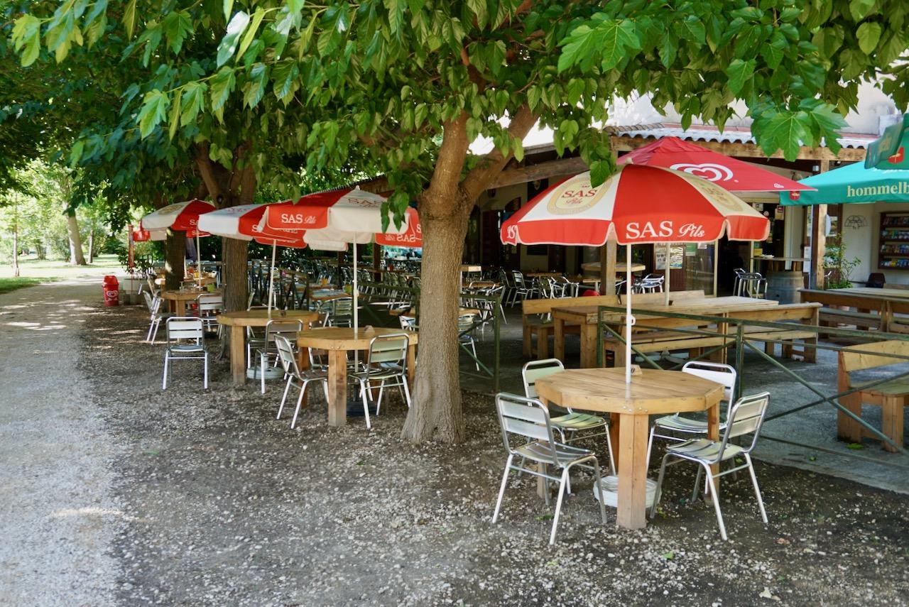 Camping La Plage, Montclus / Occitanie, Languedoc-Roussillon