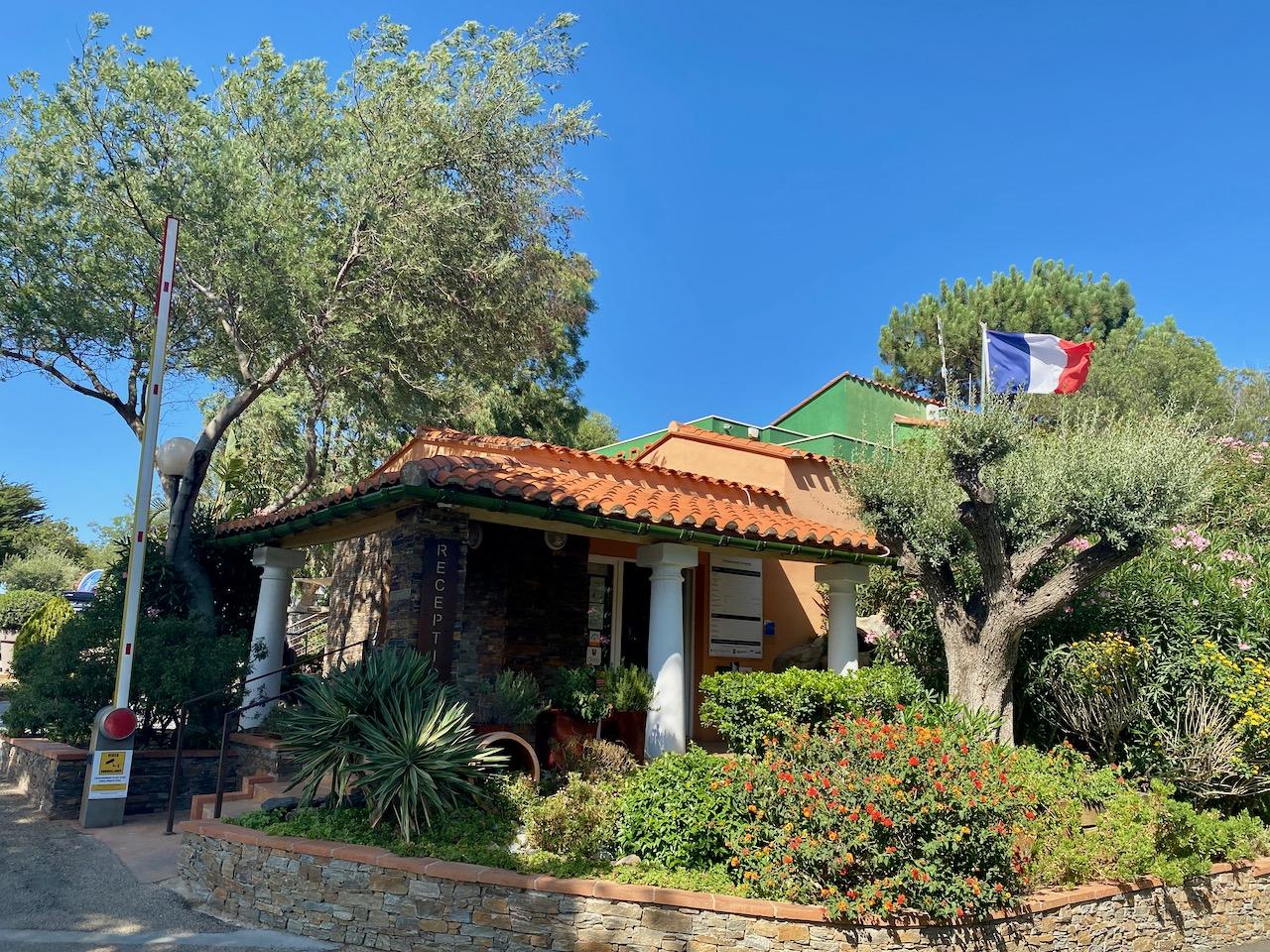 Campingplatz Les Criques de Porteils, Argelès sur Mer,  Languedoc-Roussillon