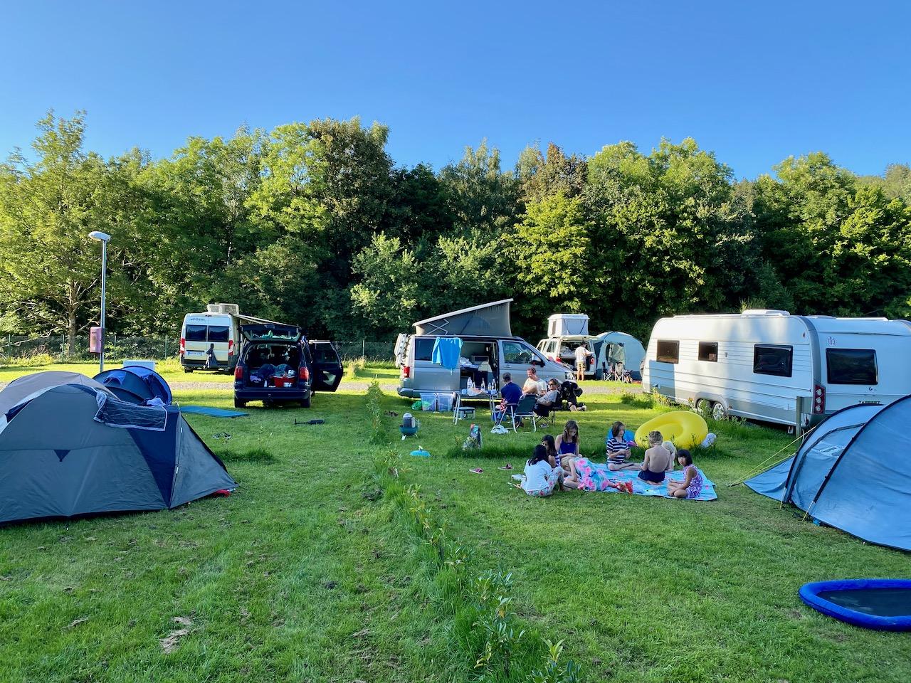 Campingplatz Kronenburger See, Kronenburg, Eifel